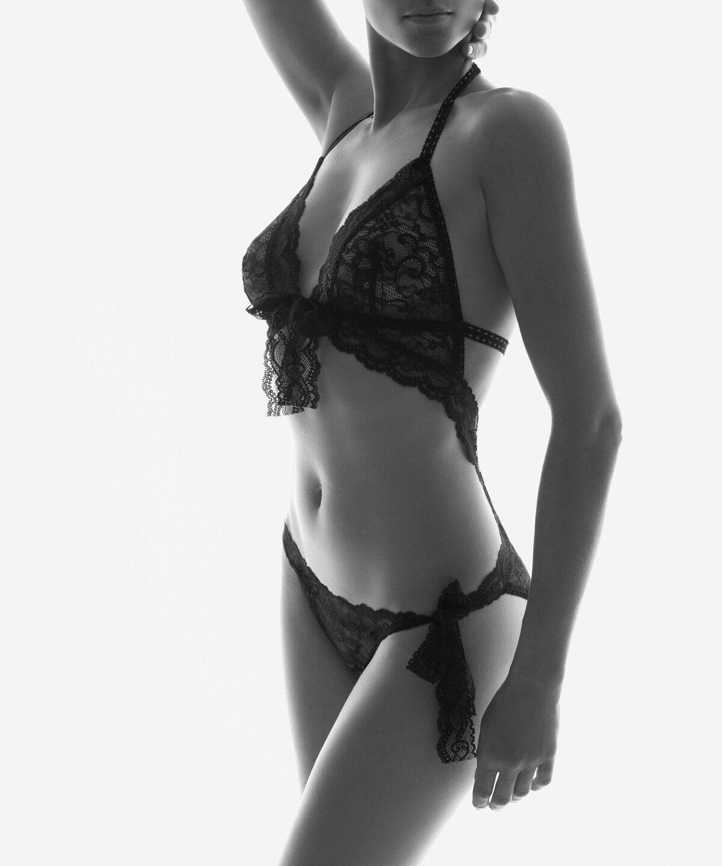 "AUBADE pièce trikini Set Soutien-gorge slip ""BOITE A DESIR"" p067"