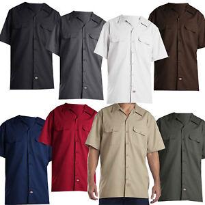 Dickies Short Sleeve Work Shirt Herren-Hemd Freizeithemd Kurzarmhemd Regular Fit