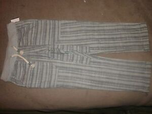 Genuine-Kids-Oshkosh-Toddler-Boys-039-Stripe-Lounge-Pants-Grey-Choose-Size-B126