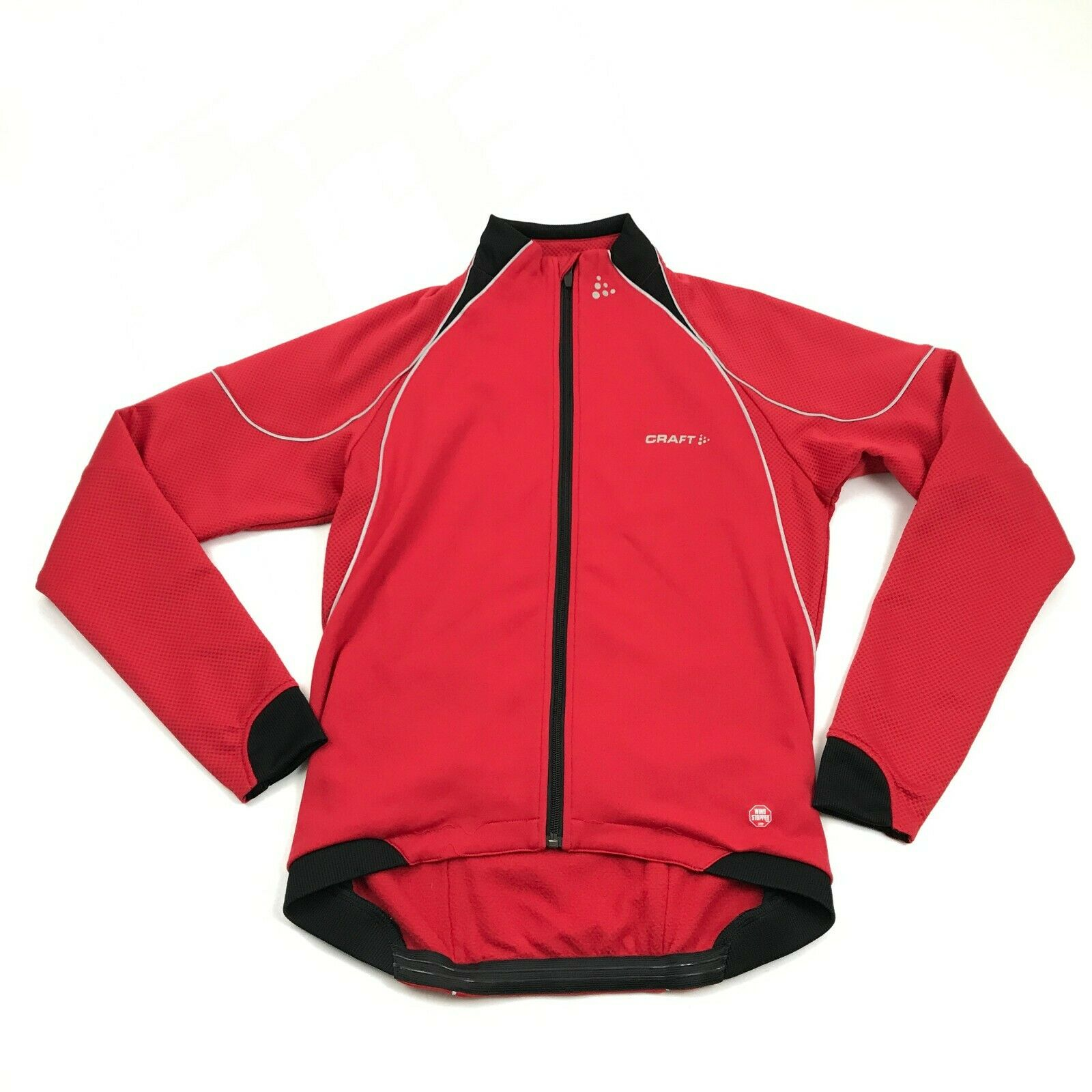 nuovo CRAFT L3 Prossoection uomini Cycle Jacket 3M Safety Reflective Warm Full Zip  149