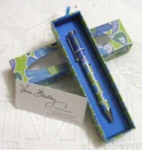 Vera Bradley DOODLE DAISY Ball POINT PEN BLACK INK for PURSE Tote ... 1b4155e5f1290