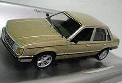 goldmet. Schuco 1:43 Opel Senator A