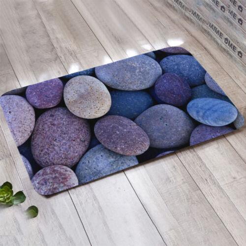 New Pebbles Entrance Non Slip Front Door Mats Indoor Outdoor Rug Floor Doormat
