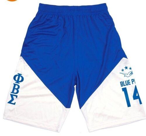 PHI BETA SIGMA Fraternity Basketball Shorts Greek Gym Casual Shorts 1914 GOMAB