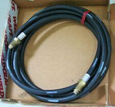 NEW 40V77R ARGON GAS HOSE EXTENSION 12.5 FT  HIGH QUALITY RUBBER HOSE 500 PSI