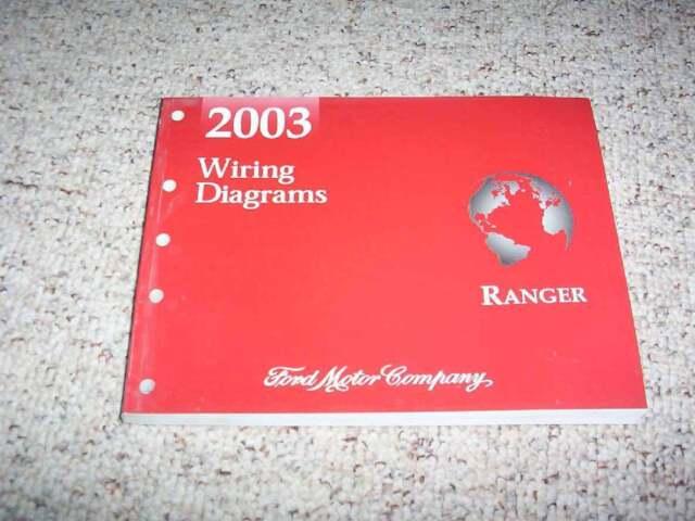 2003 Ford Ranger Electrical Wiring Diagram Manual Xl Xlt Edge Tremor Super Cab