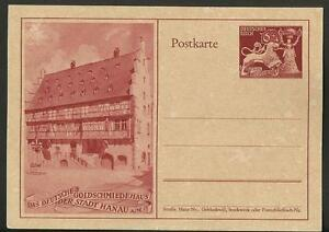 Vintage Postcard- German House of Goldsmiths of the City of Hanau 1930s Unposted