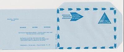 Aerogramm Lf3 Schweiz Motiv Flugzeug Postrisch Waren Jeder Beschreibung Sind VerfüGbar