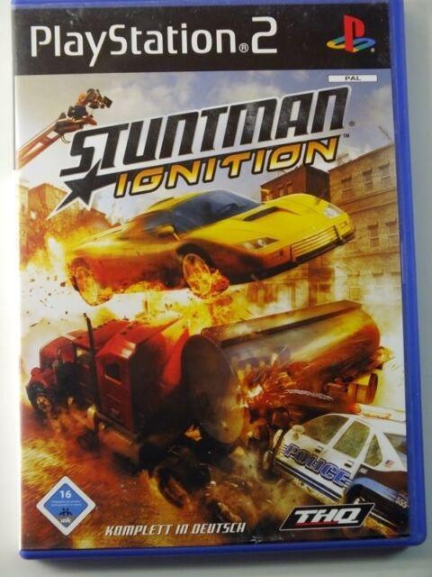 !!! PLAYSTATION PS2 SPIEL Stuntman Ignition, gebraucht aber GUT !!!