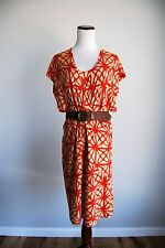 plenty by tracy reese 2 Piece Dress Set Lot Red Small S Spaghetti Straps linen