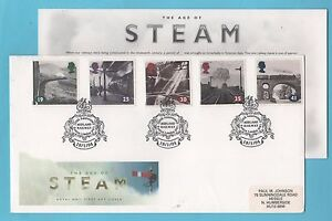 Age of Steam 1994 Post Office Cover  Midland Railway First Day of Issue Pmk - Leicester, Leicestershire, United Kingdom - Age of Steam 1994 Post Office Cover  Midland Railway First Day of Issue Pmk - Leicester, Leicestershire, United Kingdom