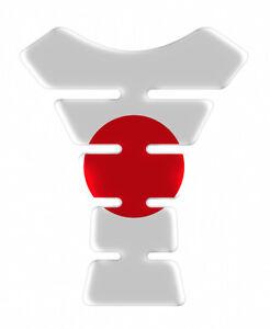 Japan Flag Exclusive Resin Domed Adhesive Tank Pad
