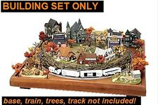 MTL Micro-Seasons N Halloween Haunted Hamlet COMPLETE 12-BUILDING SET *NEW*
