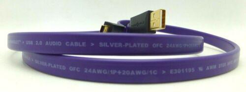 WireWorld UltraViolet 6 USB 1 meter USB A Mini B   USM1.0M Wire World