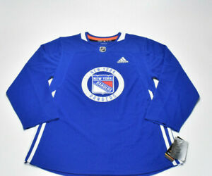 Details about ADIDAS New York Rangers NHL Authentic Practice Hockey Jersey Men's Size 46 $120