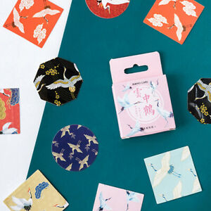45x-Crane-in-the-Clouds-DIY-Diary-Stickers-Paper-Labels-Gifts-Packaging-DecorBh