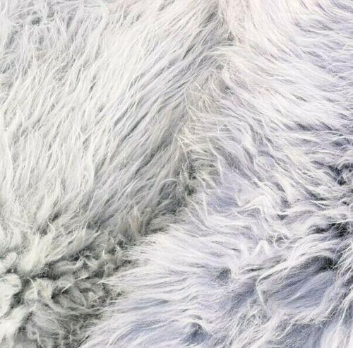 Top éco Peau lainee Mouton Peaux Gris Clair Gris Bleu Foncé Gris sons NEUF L-XXL