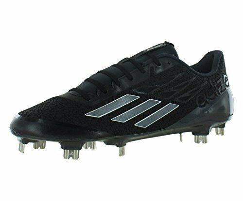 Adidas USSH1603065864 Adizero Afterburner Mens Baseball Cleat lack-Carbon