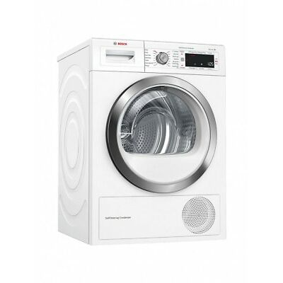 Bosch WTW87561GB Heat Pump Tumble Dryer 9kg Load A++ Energy Rating White Laundry