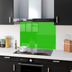 Dettagli su Sfumature di verde chiaro Vetro temperato Cucina Splashback  pannelli qualsiasi taglia e colore- mostra il titolo originale