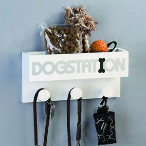 Casablanca-Dogstation-Hunde-Garderobe-Wandhalterung-fuer-Leinen-Hundeleinenhalter
