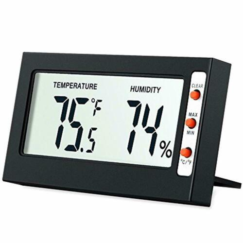 Indoor Digital Hygrometer Thermometer, Humidity Monitor with Temperature Gauge H