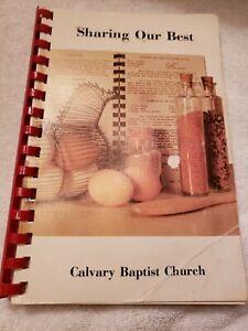 Family Favorite Cookbook  Calvery Baptist Church Niagara Falls NY Recipes Bake