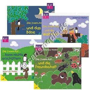 CD-Set-DIE-DREI-VOM-AST-Box-2-4-CDs-Folge-5-8-Hoerspiel-NEU-CM