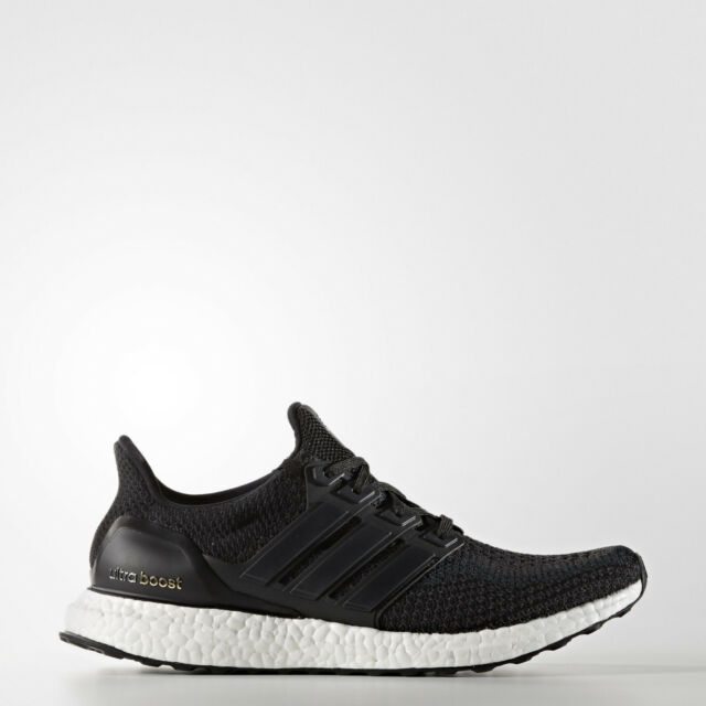 2b6a7290efa0b adidas Ultra Boost Mens Core Black Running Shoes Trainers BB3909 ALL Sizes