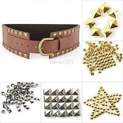 CLAW SPIKE METAL CONE POINTED STUD RIVET PUNK TSHIRT LEATHER BAG SHOE BELT CRAFT