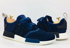 newest 8c435 55c13 Details about Adidas Nmd R1 Mystery Blue Navy Mens Size 12 BY2775