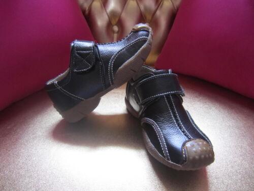 Garçon Noires 25 Sandales Pointure Offertes Neuves Chaussures H5wS6q