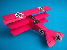 Modelik 05/05 -  Fokker Dr I   mit Lasercutteilen         1:33