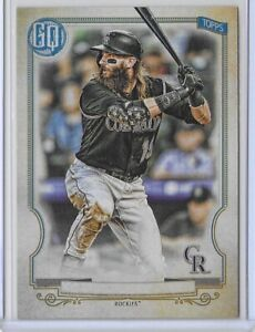 2020 Topps Gypsy Queen Charlie Blackmon No Name Plate SP No. 103