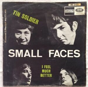 SMALL-FACES-7-034-1967-Tin-Soldier-I-feel-much-better-Immediate-EMI-IM-062-Belgien