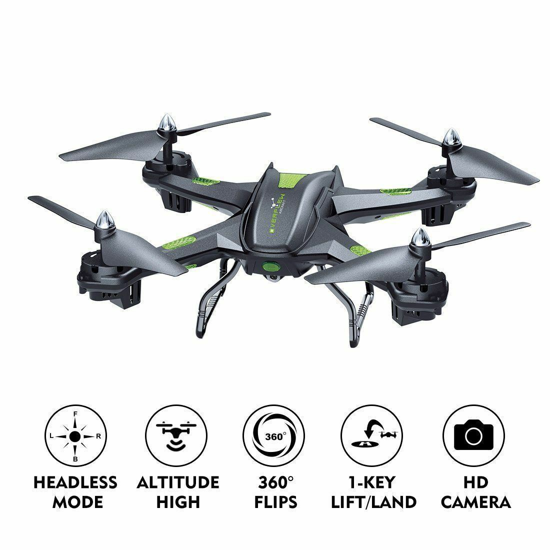 Drone with Wifi Camera Live Video Mode 2.4GHz 4 CH 6 Axis Gyro RC Quadcopter