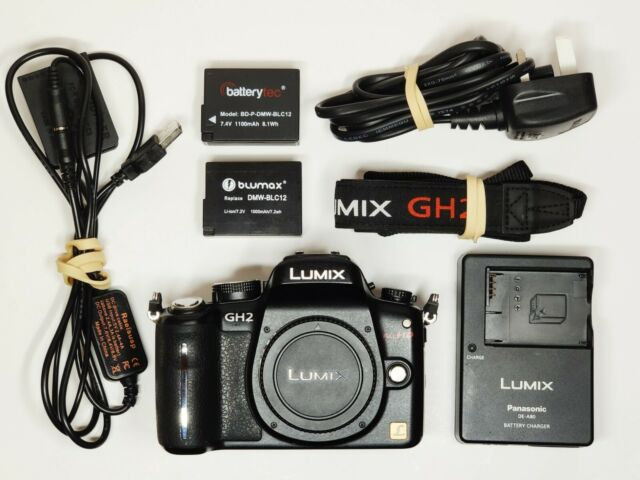 Panasonic LUMIX DMC-GH2 16.0MP Digital Camera - Body Only