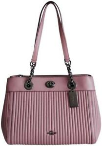 8d8d468591d0 Image is loading NWT-Coach-Turnlock-Edie-Carryall-Shoulder-Bag-Dusty-