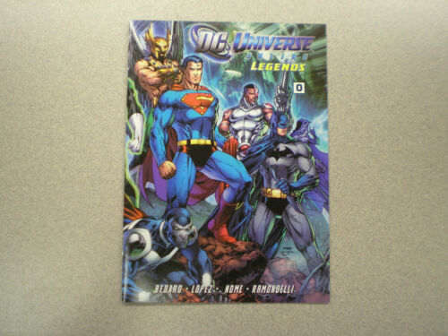 DC Universe Online Legends Collector/'s  Mini Comic Book 0