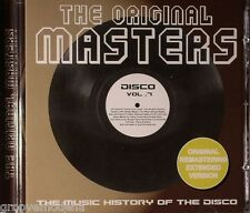 THE ORIGINAL MASTERS DISCO VOL. 7 EXTENDED TRACKS NUOVO NEW MINT COSMIC MECCA DJ