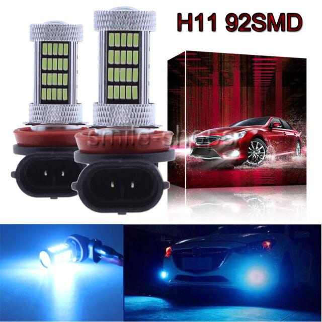 H11 92SMD LED Fog Light For 2006-2014 Acura RLX RL TL TSX