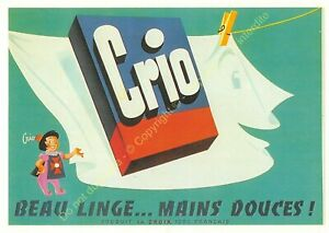 CP Poster Advertising Laundry Crio Edit Nugeron J128