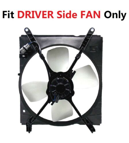 On Driver Side COOLING FAN ASSEMBLY TO3115111 Fit 1997-1999 TOYOTA CAMRY 2.2L