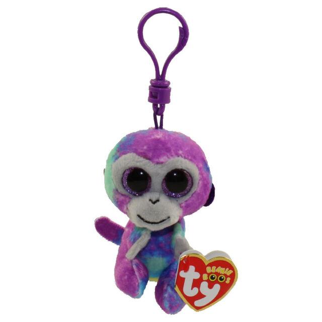 57213bf7f0c Ty Beanie Babies 36561 Boos Zuri The Monkey Boo Key Clip for sale ...