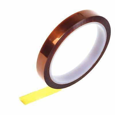 Sale 5mm 100ft Gold High Temperature Heat Resistant Kapton Tape Polyi UKLQ Hot