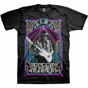 Jimi-Hendrix-Electric-Ladyland-Neon-Official-Merchandise-T-Shirt-M-L-XL-Neu