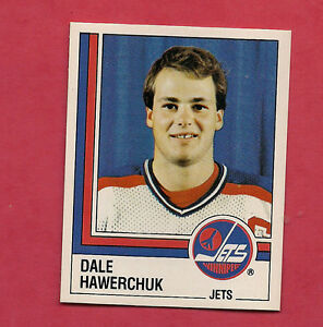 RARE-1987-JETS-363-DALE-HAWERCHUK-STICKER-CARD