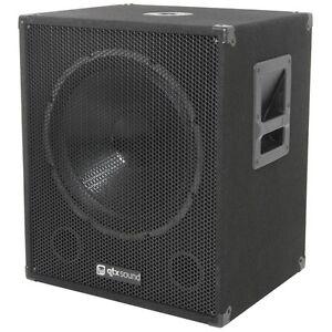 QTX-Sound-QT15SA-15-Active-Powered-600W-PA-DJ-Subwoofer-Sub-Bass-Bin-SINGLE