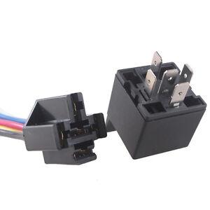 car auto truck 12v dc 40a amp relay socket plug power spdt. Black Bedroom Furniture Sets. Home Design Ideas