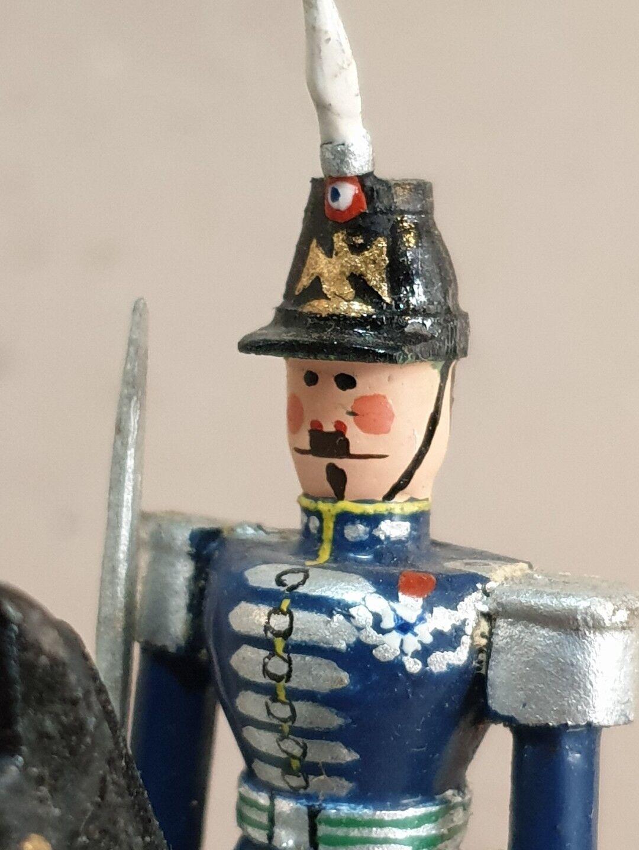Noël, envoie de la joie Soldats Figurines Bois Cavaliers Cuirassiers Cuirassiers Cuirassiers Empire 1930 f2198f